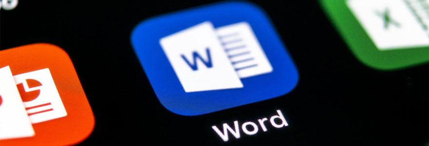 Fonctions avancées du logiciel Word